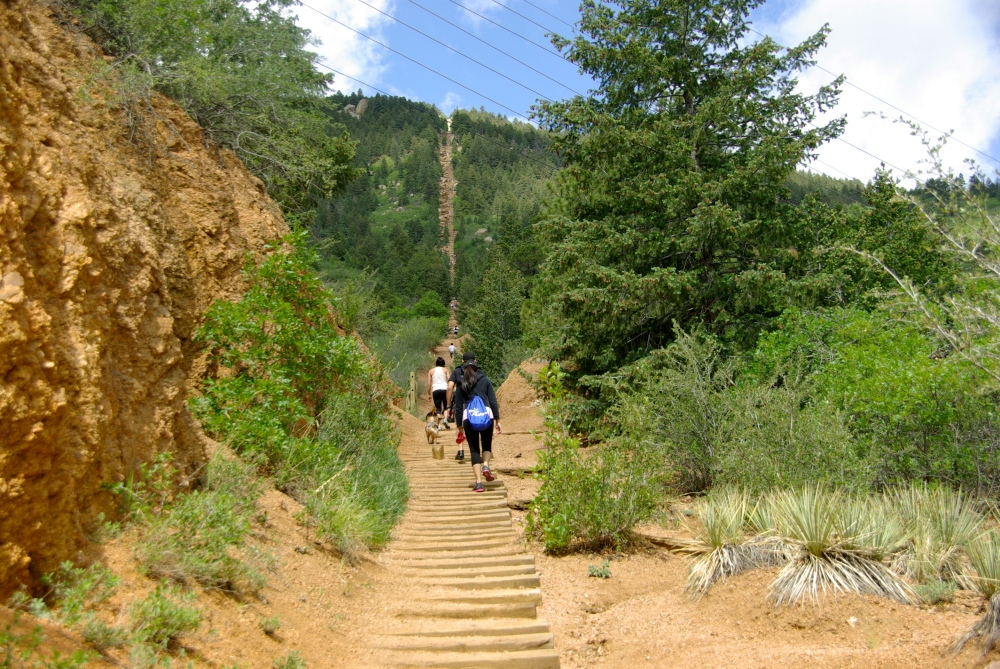 Looking up the Incline